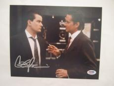 Charlie Sheen Signed Auto 8x10  Psa/dna Itp Wall Street 33