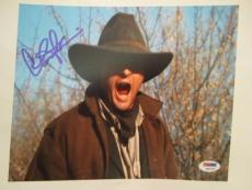 Charlie Sheen Signed Auto 8x10  Psa/dna Itp Young Guns