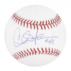 Charlie Sheen Signed Baseball Psa/dna Major League Psa/dna Itp