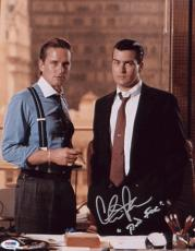 "Charlie Sheen Signed ""bud Fox"" 11x14 Photo Autographed Psa/dna Itp 4a11956"