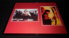 Charlie Sheen Signed Framed 16x20 Hot Shots Photo Display