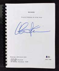 Charlie Sheen Signed Platoon Movie Script BAS Witnessed #I38823