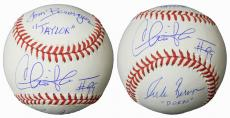 Charlie Sheen, Tom Berenger & Corbin Bernsen Cast Signed Rawlings Official MLB Baseball w/Taylor & Dorn