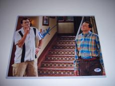 Charlie Sheen Two And A Half Men Psa/dna Signed 11x14 Photo