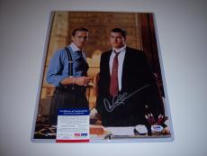 Charlie Sheen Wall Street,two And A Half Men Psa/dna Signed 11x14 Photo