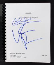 Charlie Sheen & Willem Dafoe Signed Platoon Movie Script BAS Witnessed #I38874