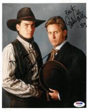 Charlie Sheen/Emilio Estevez Signed Autographed 8x10 Photo PSA/DNA #Y79955