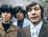 Charlie Watts autographed 8x10 Photo (Rolling Stones Drummer) Image #SC6