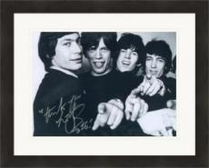 Charlie Watts autographed 8x10 photo (Rolling Stones Drummer) #SC14 Matted & Framed