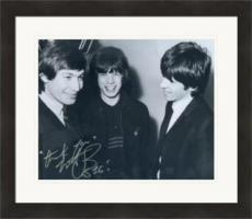 Charlie Watts autographed 8x10 photo (Rolling Stones Drummer) #SC15 Matted & Framed