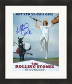 Charlie Watts autographed 8x10 Photo (Rolling Stones) #SC3 Matted & Framed