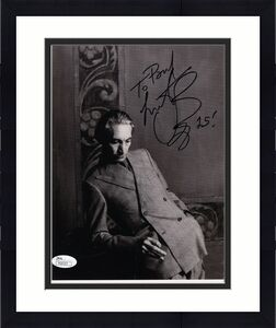 CHARLIE WATTS HAND SIGNED 8x10 PHOTO     DRUMMER ROLLING STONES    TO PAUL   JSA