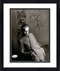 CHARLIE WATTS HAND SIGNED 8x10 PHOTO     ROLLING STONES DRUMMER     TO RON   JSA