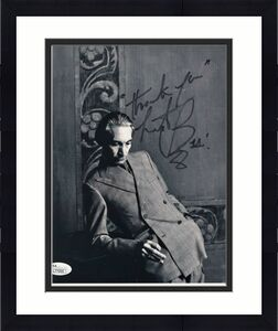 CHARLIE WATTS HAND SIGNED 8x10 PHOTO      ROLLING STONES DRUMMER IN SUIT     JSA