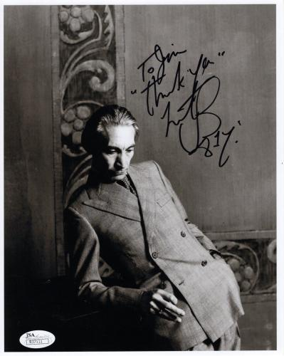 CHARLIE WATTS HAND SIGNED 8x10 PHOTO        ROLLING STONES      TO JIM       JSA
