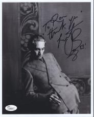 CHARLIE WATTS HAND SIGNED 8x10 PHOTO        ROLLING STONES     TO RON        JSA