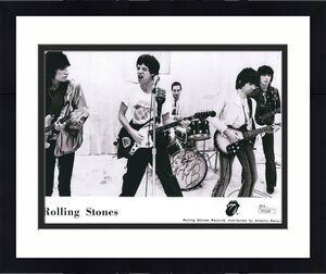 CHARLIE WATTS HAND SIGNED 8x10 PHOTO        ROLLING STONES     TO STEVE      JSA