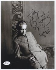 CHARLIE WATTS HAND SIGNED 8x10 PHOTO    SIGNED TO JOHN    ROLLING STONES     JSA