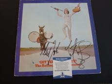 Charlie Watts Mick Taylor Rolling Stones Autographed Signed LP Beckett Certified