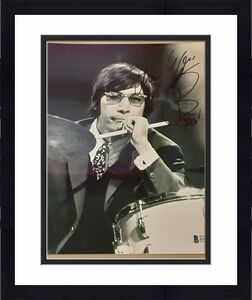 Charlie Watts Rolling Stones Drummer Legend SIGNED AUTOGRAPHED 8X10 Photo BAS