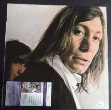 "Charlie Watts ""rolling Stones"" Jsa Coa Signed Autographed 10x10 Photo Authentic"