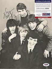 """Charlie Watts """"rolling Stones"""" Psa/dna Coa Signed Autograph 8x10 Magazine Page B"""