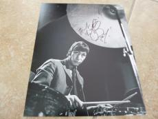 Charlie Watts Rolling Stones Signed Autographed 8x10 Photo Beckett Certified