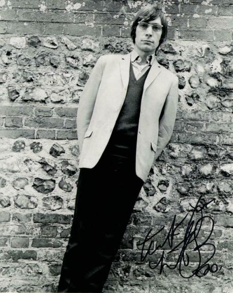Charlie Watts Signed Autograph 8x10 Photo - Rolling Stones Drum, Black And Blue