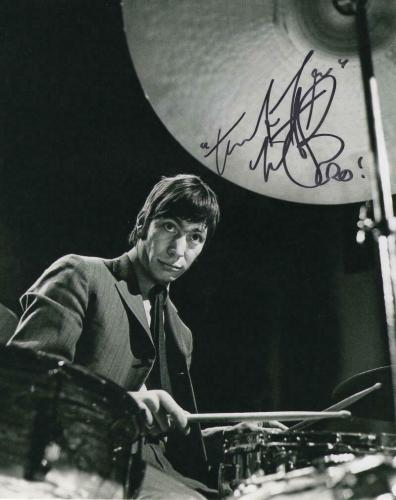 Charlie Watts Signed Autograph 8x10 Photo - Rolling Stones Drummer Classic Image