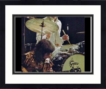 Charlie Watts Signed Autograph 8x10 Photo Rolling Stones Drummer, Paint It Black