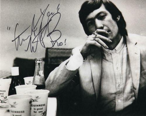 Charlie Watts Signed Autograph 8x10 Photo - Rolling Stones Drummer, Some Girls B