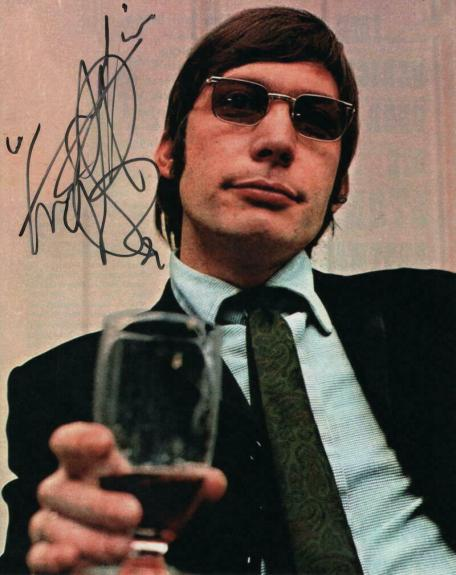Charlie Watts Signed Autograph 8x10 Photo - Rolling Stones Drummer, Steel Wheels