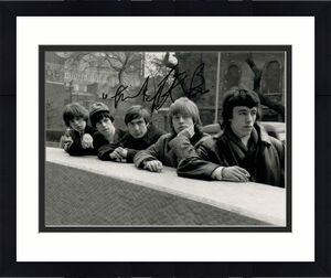 Charlie Watts Signed Autograph 8x10 Photo - Rolling Stones Drummer W Mick Jagger