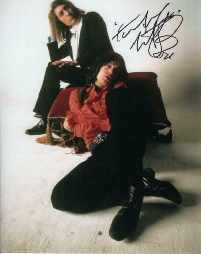 Charlie Watts Signed Autograph 8x10 Photo Rolling Stones Drummer W/ Mick Jagger