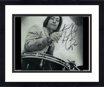 Charlie Watts Signed Autograph 8x10 Photo - Rolling Stones, Honky Tonk Women