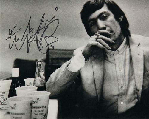 Charlie Watts Signed Autograph 8x10 Photo - Rolling Stones It's Only Rock N Roll