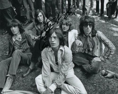 Charlie Watts Signed Autograph 8x10 Photo - Rolling Stones, Steel Wheels, Acoa