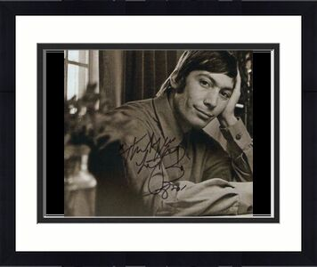 Charlie Watts Signed Autograph 8x10 Photo - Rolling Stones Tattoo You, Aftermath