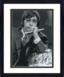 Charlie Watts Signed Autograph 8x10 Photo - The Rolling Stones, Exile On Main St