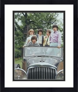 Charlie Watts Signed Autograph 8x10 Photo - The Rolling Stones Rare Iconic Photo