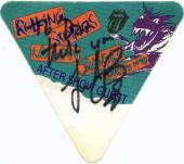 Charlie Watts Signed Autographed Rolling Stones After Show Pass Beckett BAS