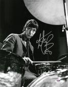 Charlie Watts Signed Rolling Stones Autographed 11x14 B/W Photo PSA/DNA #AC78521