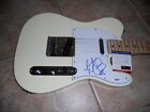 Charlie Watts The Rolling Stones Signed Autograph Electric Guitar PSA Certified