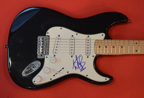 Charlie Watts The Rolling Stones Signed Autographed Electric Guitar Flawless B