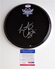 Charlie Watts The Rolling Stones Signed Drumhead Psa Coa P33805