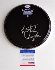 Charlie Watts The Rolling Stones Signed Drumhead Psa Coa P33806