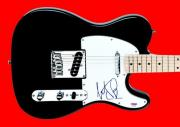 Charlie Watts The Rolling Stones Signed Guitar Autographed PSA/DNA #T21402