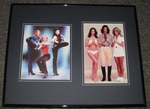 Charlie's Angels 1976 & 2000 Cast Framed 16x20 Photo Set