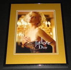 Charlize Theron 11x14 Framed 2011 J'Adore Dior ORIGINAL Advertisement