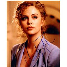 Charlize Theron Autographed 8x10 Photo